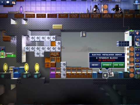 Blockheads 1.6 - How to find titanium ore!