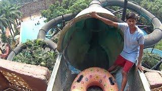 Green Tube Water Slide At Tikuji-ni-wadi