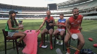 Captains Out Of Their Comfort Zones! This Is The Inaugural Captains Quiz | 2019 | Afl
