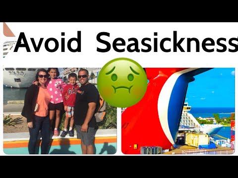 Ways to Avoid Seasickness on a Cruise Ship
