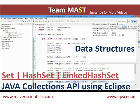 Set Example in Java | Team MAST