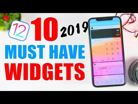 10 MUST HAVE iOS Widgets 2019 !