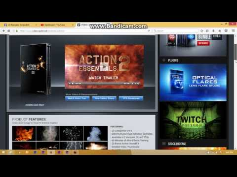 After Effects Download Action Essentials 2 720p free