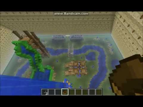 Minecraft: Waterpark in Pyramid