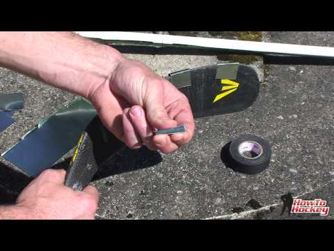 Make Your Own Reinforced Road Hockey Stick