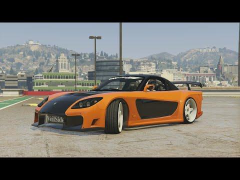GTA 5 - TOKYO DRIFT MONTAGE (Han's RX7 Veilside Fortune)