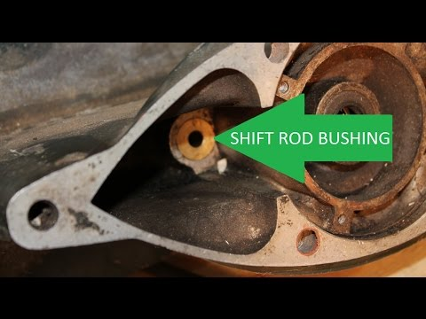 Quick and Easy Removal of Johnson Evinrude Brass Shift Rod Bushing and O Ring Seal