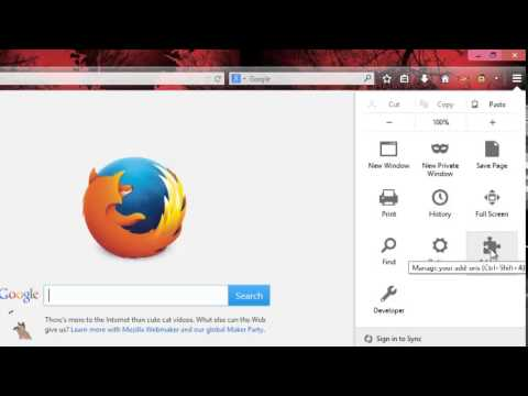 How To Enable Or Disable Mozilla Firefox Addons