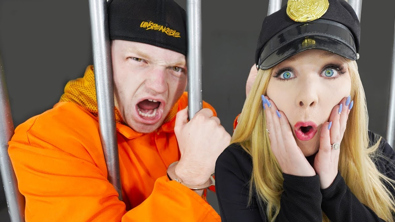 I Trapped UNSPEAKABLE in Prison! - Challenge