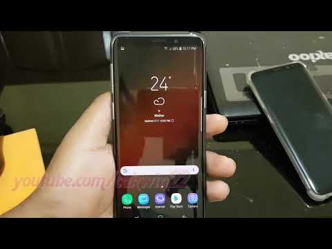 Samsung Galaxy S9 : How to Turn on Mobile data (Android Oreo)