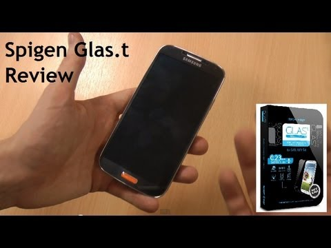Best Samsung Galaxy S4 Screen Protector? - Spigen SGP Glas.t Galaxy S4 Review