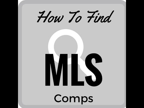 how to find comps on gsmls