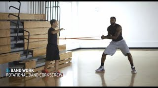 LeBron James - 1 hour workout (uncut)