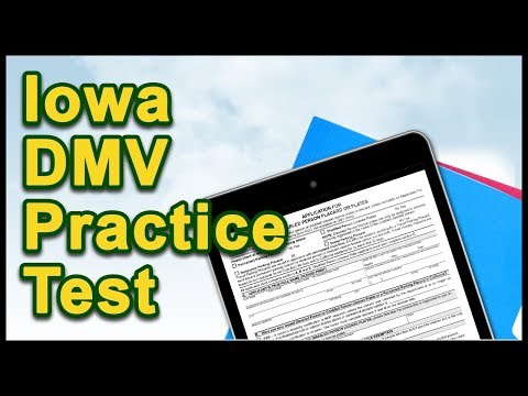 Iowa DMV Practice Test