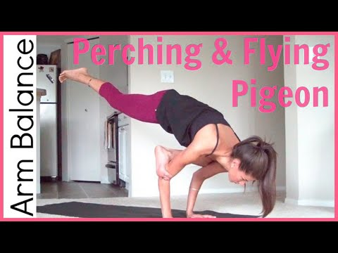 How to Flying Pigeon Pose | Arm Balance