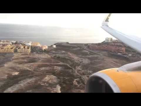 Thomas Cook A321-200SL Arrival at Tenerife South