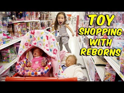 Huge Toy Shopping Haul With Reborn Baby Dolls and MORE Elf on the Shelf FUN!