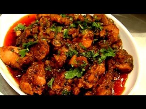chilli chicken recipe in tamil/spicy red chilli chicken