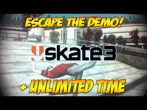 ESCAPE THE DEMO! (works without online) - Skate 3 Glitch