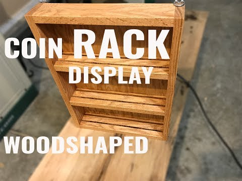 Making a Military Coin/Medal Display Rack!!!!