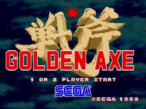 Golden Axe Review for the SEGA Mega Drive by John Gage