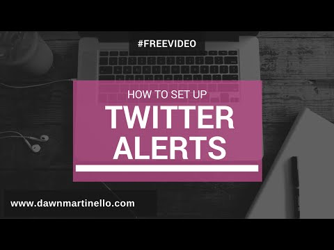 How To Set Up Twitter Alerts with Warble