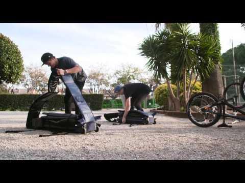 Douchebags MTB Portable Bike Bag Carrier For Planes Soft + Hard