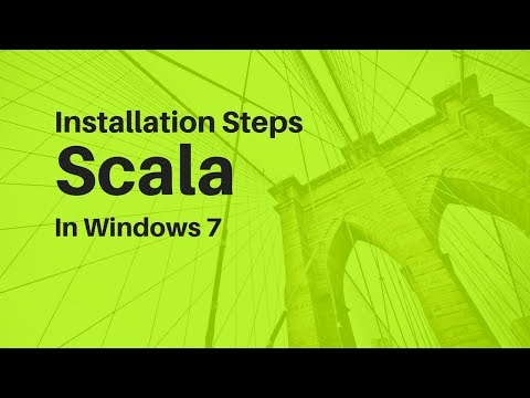 Scala installation through SBT in Windows 7