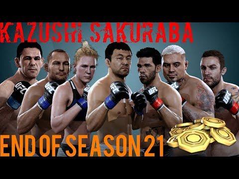 EA SPORTS UFC Mobile - H2H Season 21 End of Season Rank 2 Pack Reward Opening!
