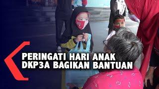 Peringati Hari Anak Nasional DKP3A Bagikan Bantuan