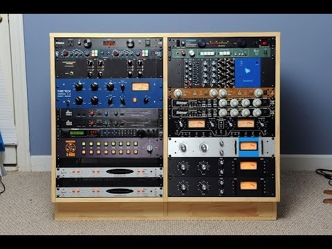 How to Build a DIY Double 16u Studio Rack