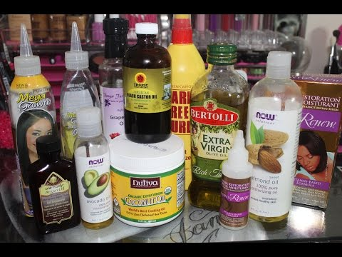 How To Grow Long Healthy Relaxed Hair Fast With Natural Oils Coconut Oil Jamaican Black Castor Oil