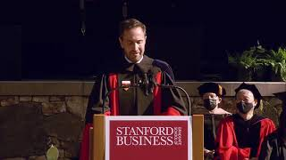 Stanford GSB Commencement 2021