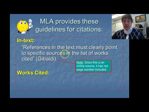 How to Format MLA In Text Citations and Works Cited basic