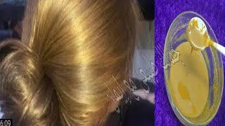 اصبغي شعرك للعيد اصفر اشقر بمكونات طبيعية بدون حناء ولا اوكسجين وبدون شيب والنتيجة مذهلة مجربة ناجحة