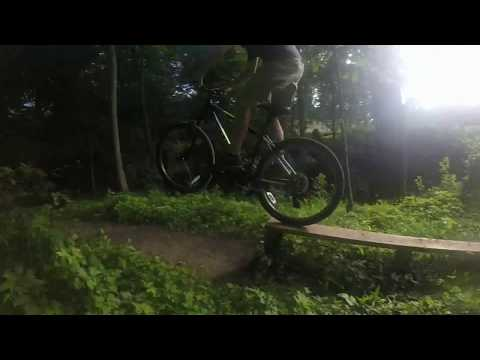 Backyard Mountain Bike Jumps
