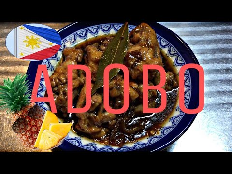 Filipino ADOBO with Pineapple juice