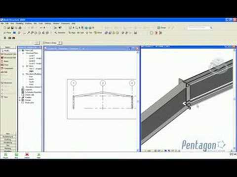 Creating a portal Frame in Revit Structure