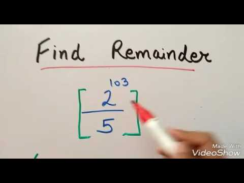 Q2 CAT Remainder theorem