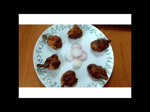Chicken lollipop at home. Easy to make recipe.