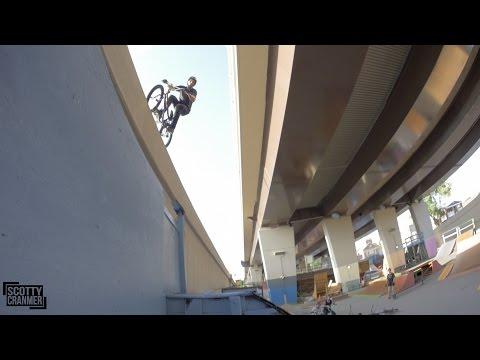 BMX BRIDGE JUMP!
