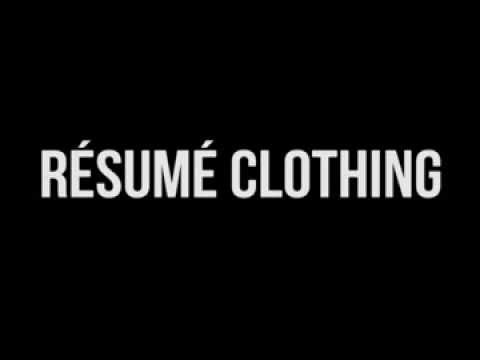 Resume Clothing