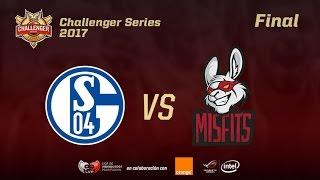 FC SCHALKE 04 VS MISFITS ACADEMY - #ChallengerLVP - CHALLENGER EU - MAPA 4 - JORNADA 6