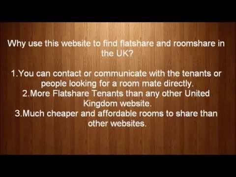 New Flatshare And Roomshare In The UK