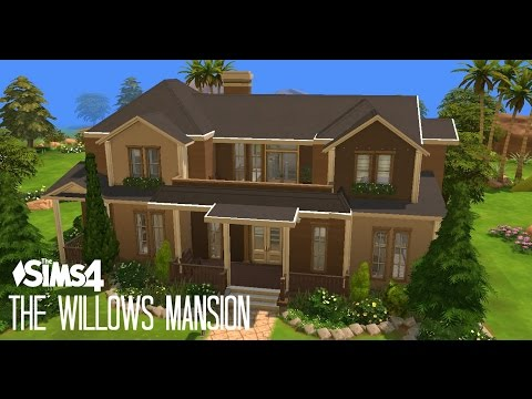 Sims 4 House Building - The Willows Mansion