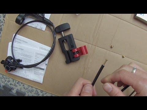 Avid Hydraulic Brake Hose Cutter & Barb Driver - For shortening brake hose lengths