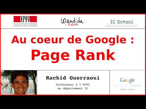 Au coeur de Google: Page Rank | Rachid Guerraoui