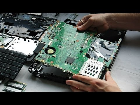 Acer Extensa 5620 Laptop Disassembly video, take a part, how to open