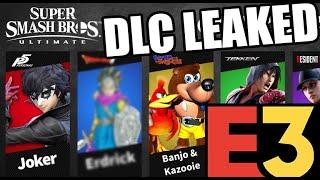 Smash Ultimate DLC Leak Videos - 9tube tv
