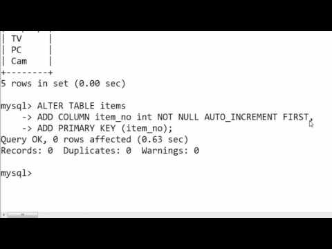60. ALTER TABLE for Adding Column by Position with constraints in SQL (Hindi)